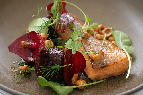 salmon at lux