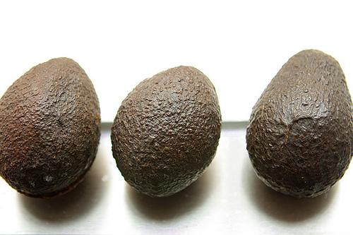3 avocados