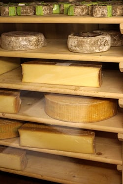 cheese ripening cave