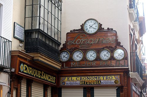 seville clock shop