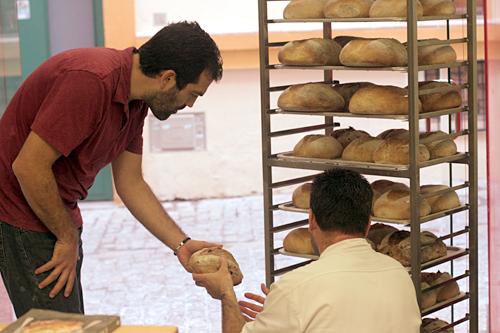 bread bakery in Seville