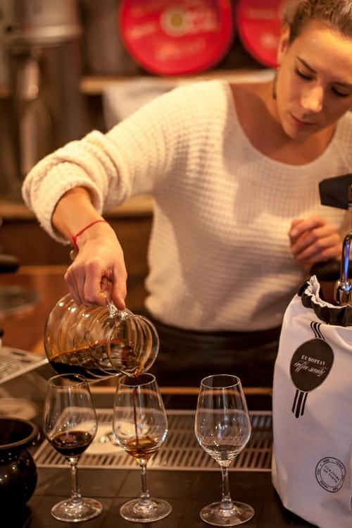 cold-brewed Jacu coffee