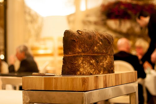 Restaurant Le Meurice - bread