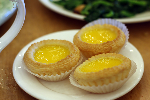 egg tarts at Saigon