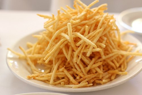 Zuni shoestring fries