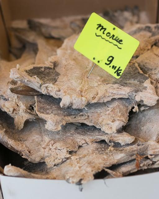 morue - salt cod