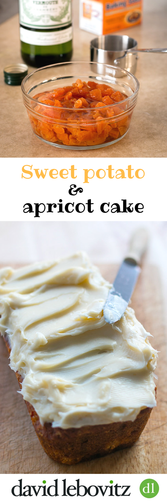Sweet Potato and Apricot Cake