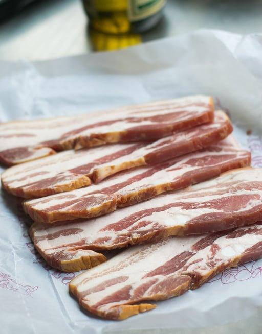 Bacon and Radicchio Risotto
