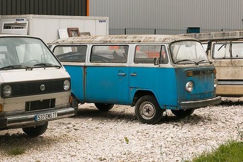 VW bus graveyard