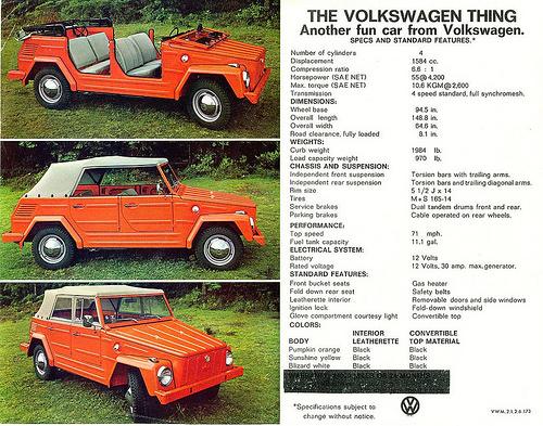 "VW ""Thing"" ad"