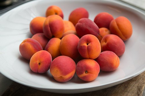 Apricot Cherry Marzipan tart recipe