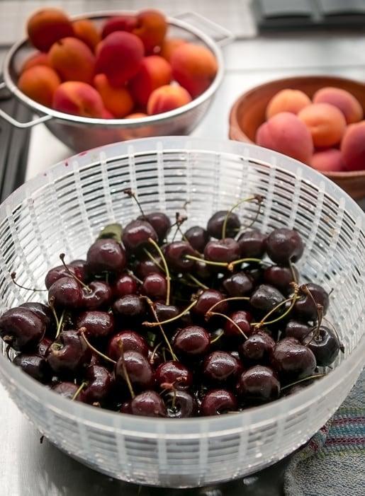 Fresh Cherry Compote recipe