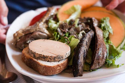 Southwest of France salad