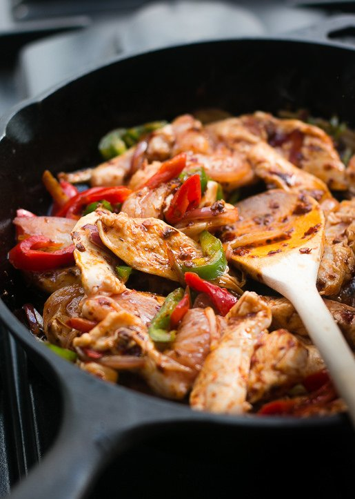 Thai Stir-Fried Chicken with Chile Jam-4
