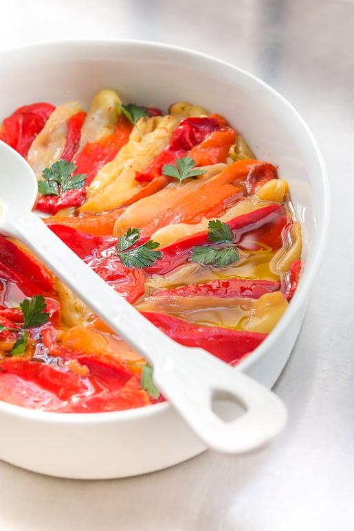 roasted pepper recipe
