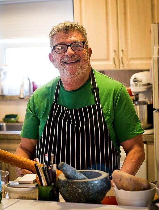 Baker and Cookbook Author Nick Malgieri