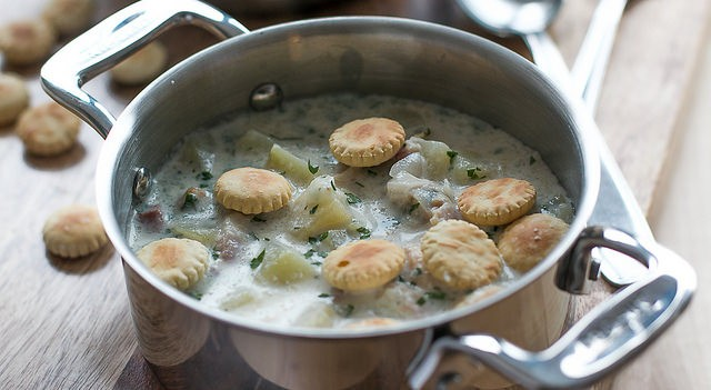 New England Clam Chowder Recipe