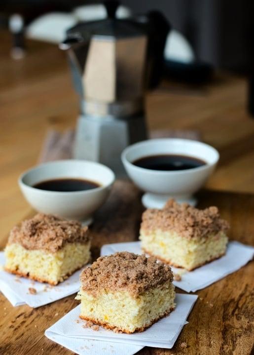 Coffee cake recipe without milk