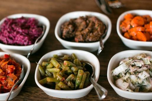 Zahav restaurant salatim