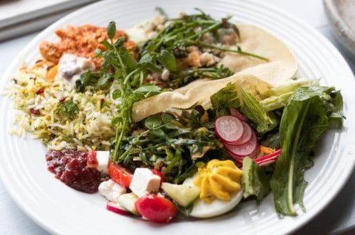 Ballymaloe lunch salads