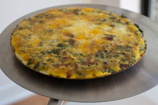 Brocolli Frittata recipe-7