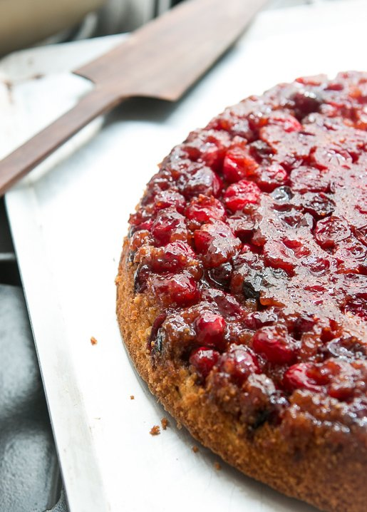 Cranberry Upside Down Cake David Lebovitz