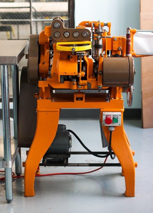 Liddabit Sweets caramel wrapping machine