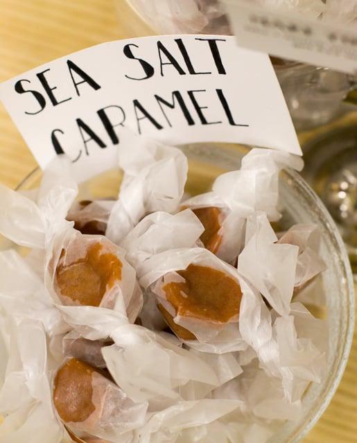 sea salt caramels - Liddabit Sweets New York City