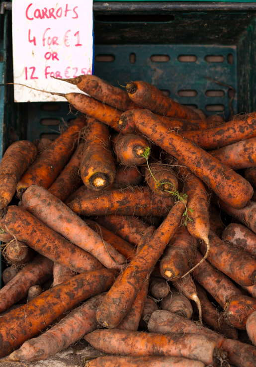 Midleton Farmers market carrots
