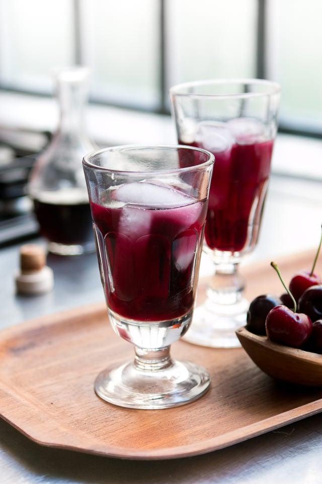 Cherry Leaf Wine