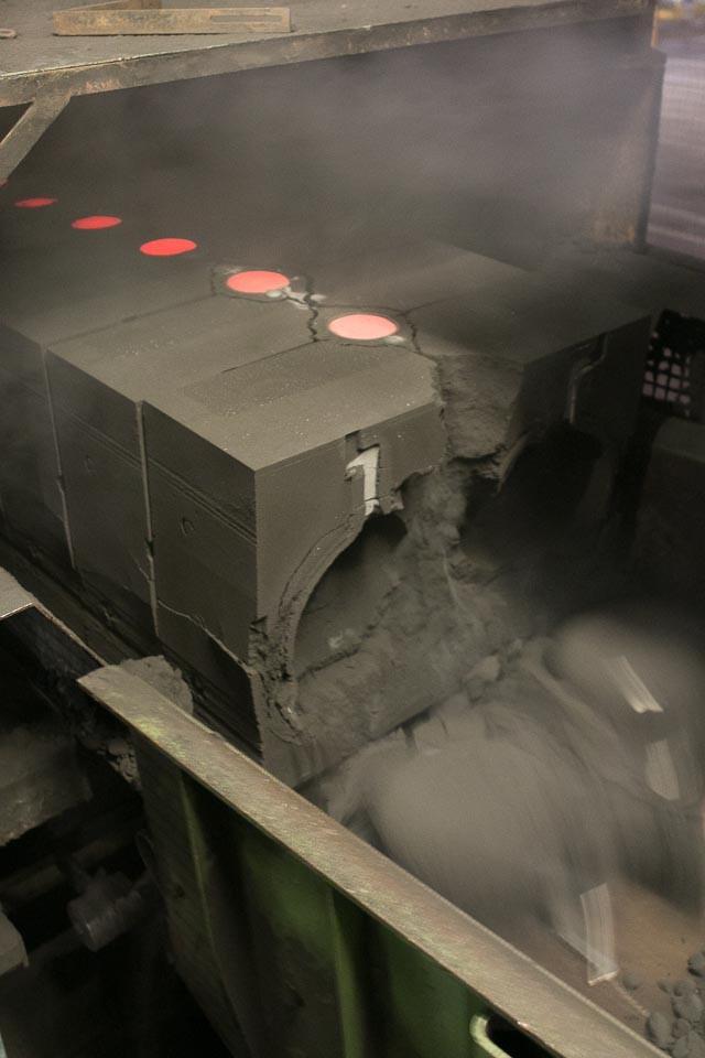 Le Creuset factory