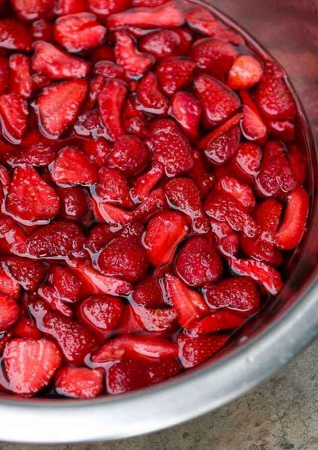 Pickled Strawberry preserves recipe