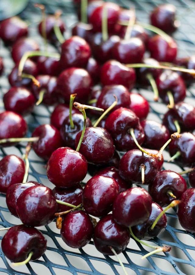 Cherry clafoutis_
