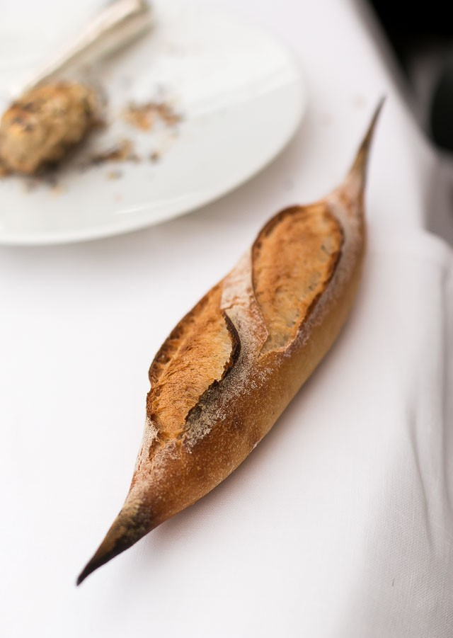 Baguette at The Bristol Hotel in Paris