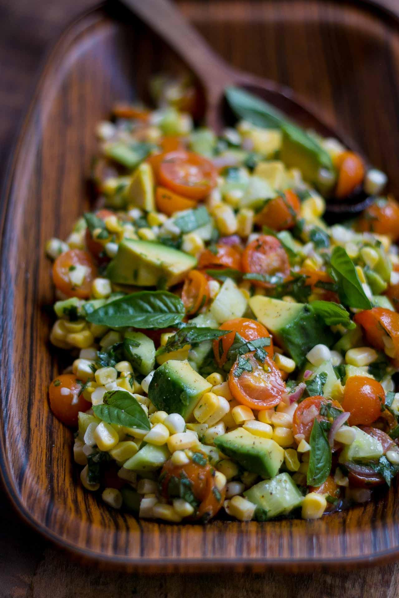 Desperation Dinners: End of Summer Corn Salad