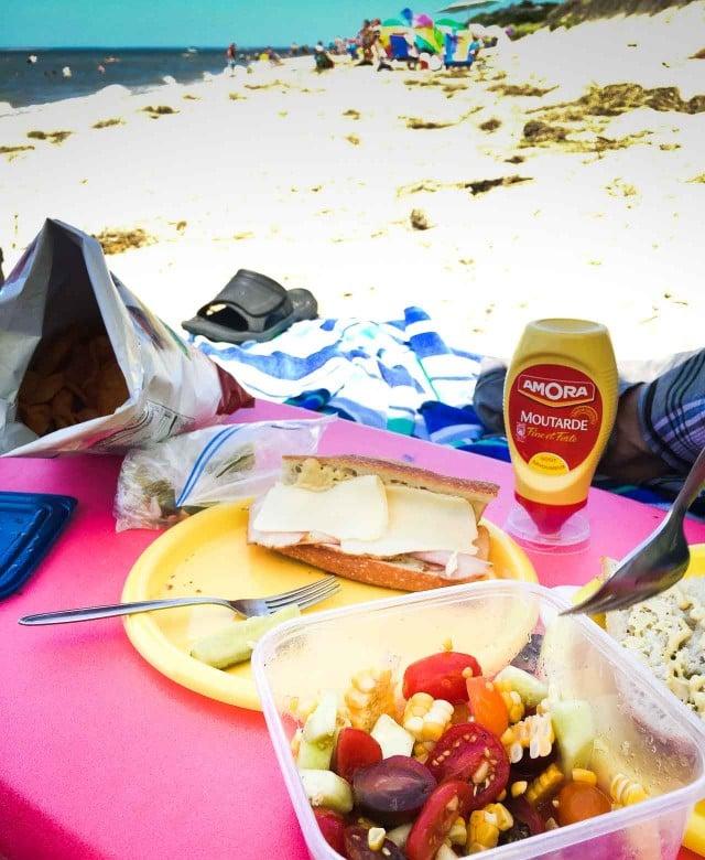 Mustard on the Beach Amora