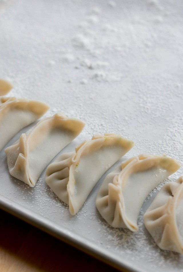 Shrimp and Chive Potsticker Dumplings