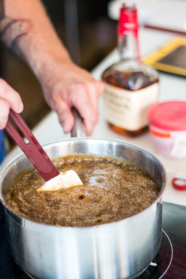 Bourbon Butterscotch sauce recipe
