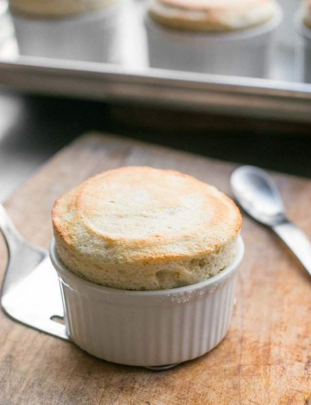 Hot Chartreuse Souffle
