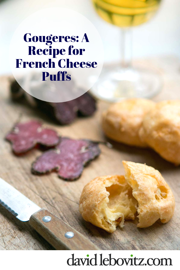 Gougeres: French Cheese Puffs