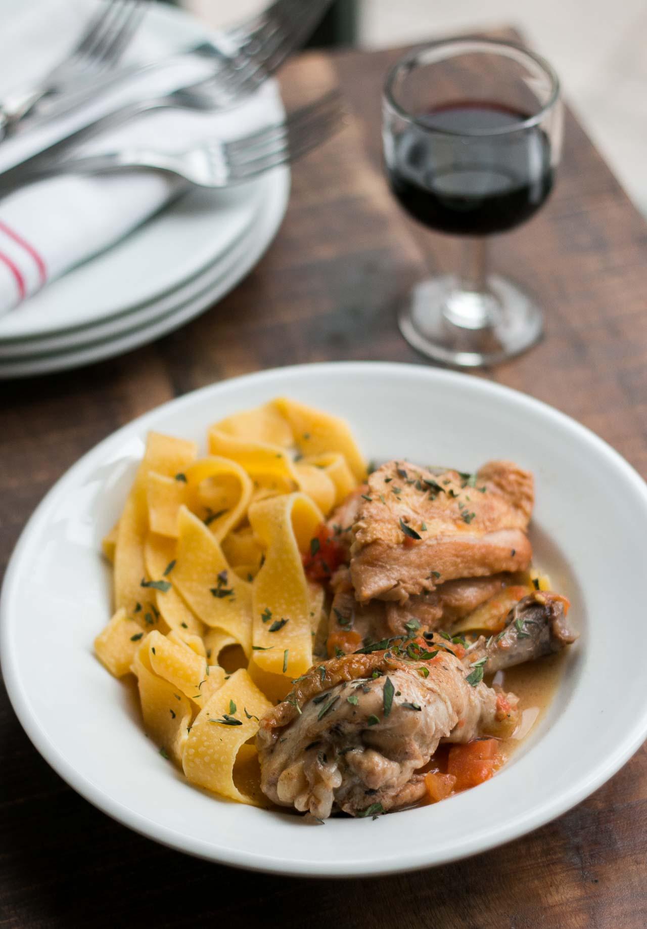 Chicken cooked in red wine vinegar recipe forumfinder Images