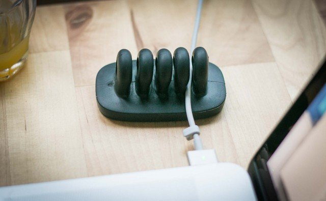 Quirky cord holder