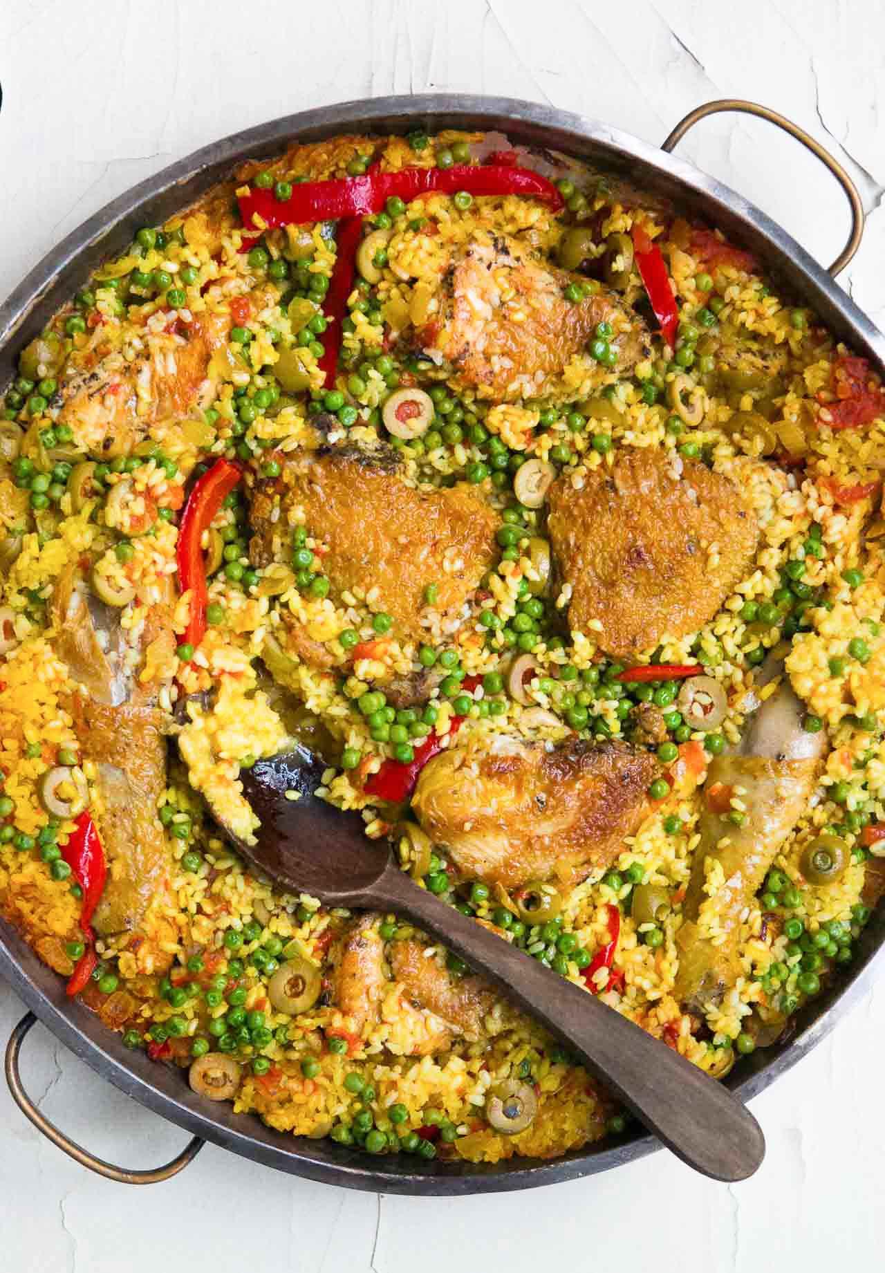 Arroz con pollo spanish chicken with rice david lebovitz ccuart Choice Image