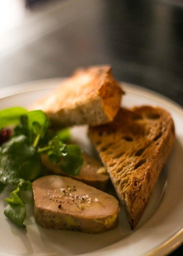 Foie gras aat La bourse et la vie paris bistro