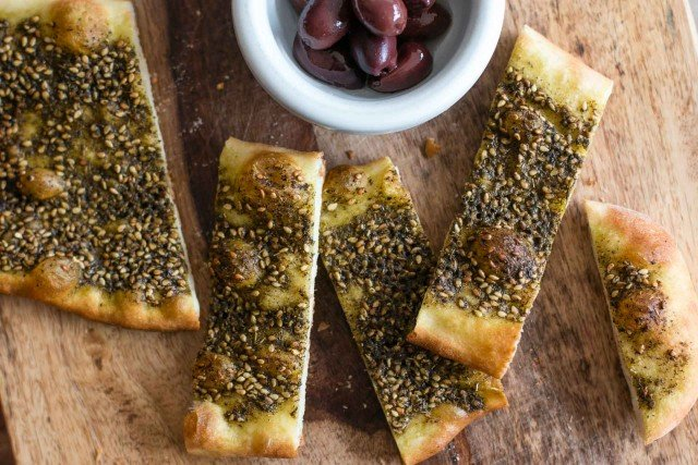Cooking With Za'atar