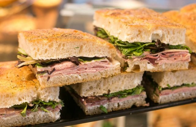 Panifica bakery focaccia sandwiches