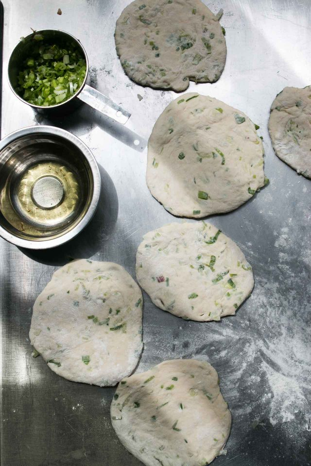 green onion flatbread recipe