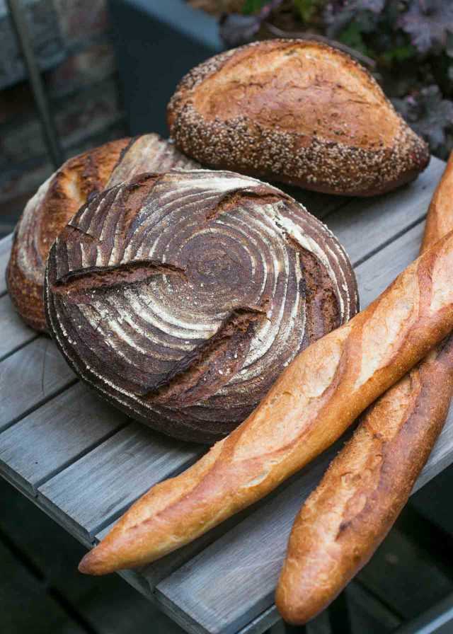 l'Imprimerie Bakery in Brooklyn New York baguettes and miche
