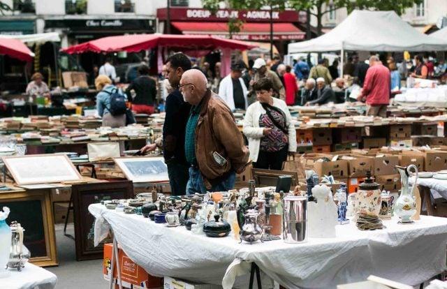 Marche d'Aligre Paris Outdoor Market-13