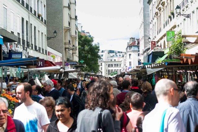 Marche d'Aligre Paris Outdoor Market